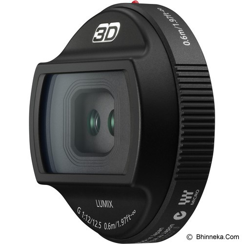 PANASONIC 3D LUMIX G 12.5mm/F12 [H-FT012E] - Camera Mirrorless Lens